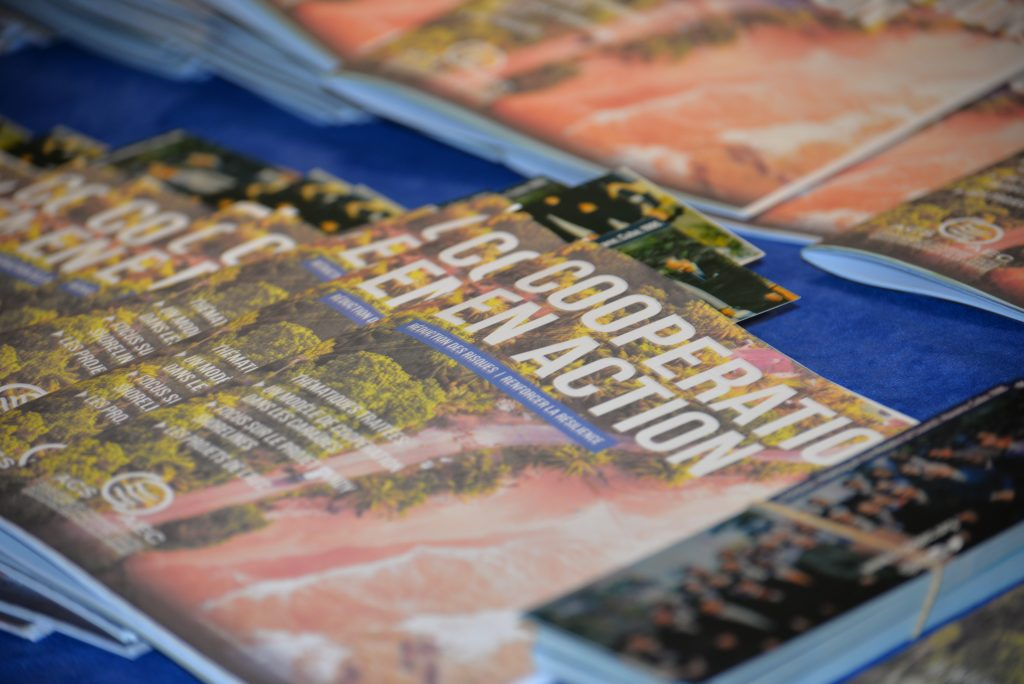 Cooperation magazines on display at the 2nd ACS International Cooperation COnference